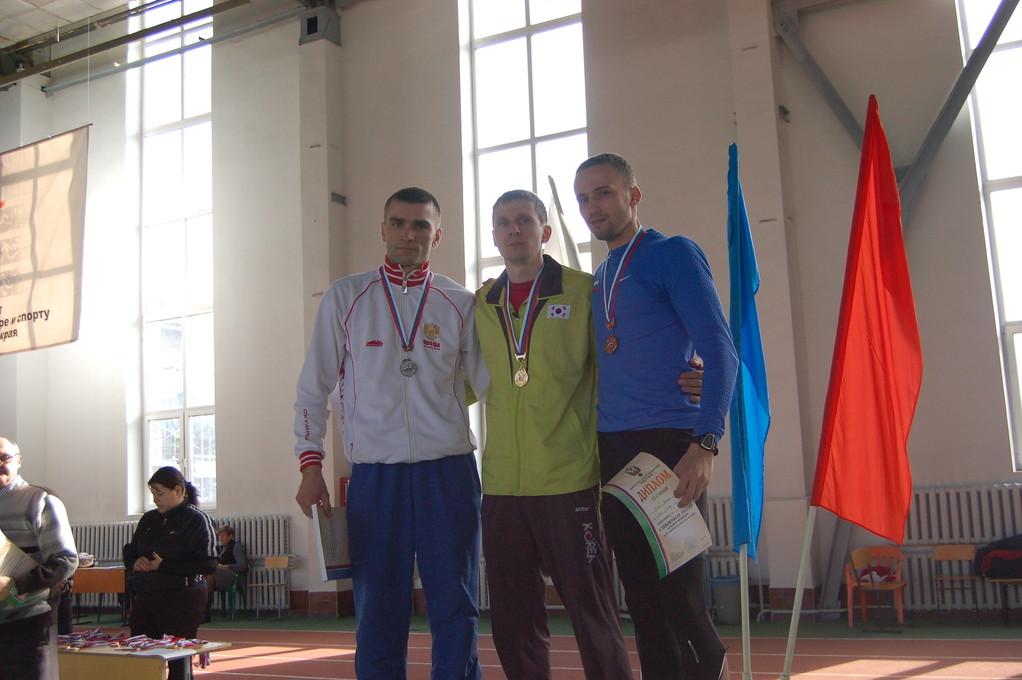 Чемпион России по прыжкам Алексей Яковлев