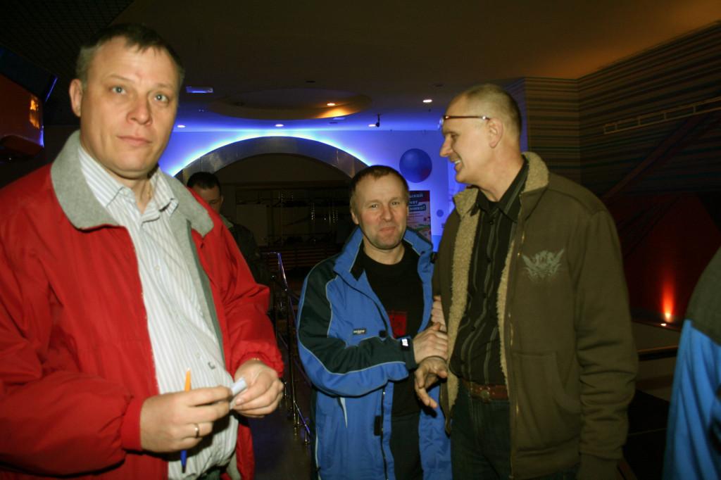 Наш председатель отдела спорта Спб ВОГа Тарасов