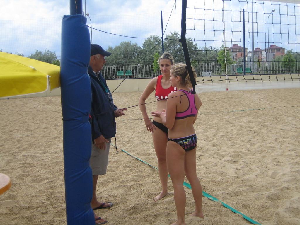 Жеребьевка с командой Москва - 2 ( Крошкина - Мануйлова)