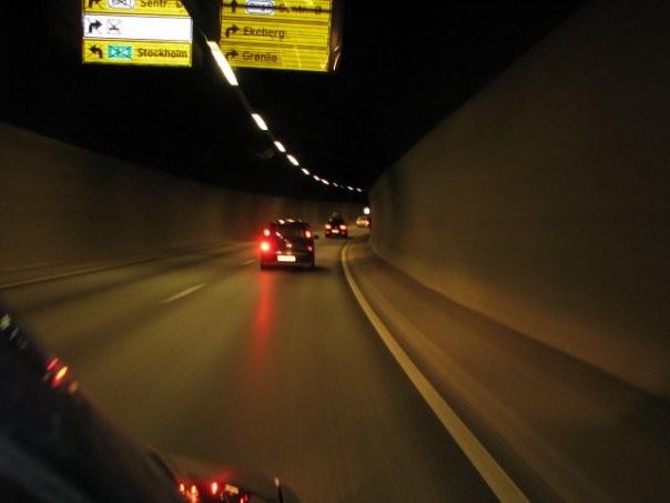 В туннеле к Осло