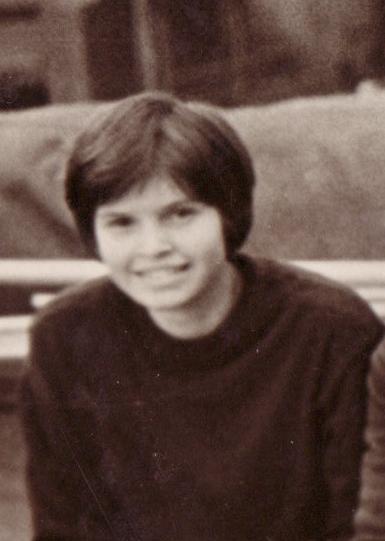 Таня Смирнова в молодости