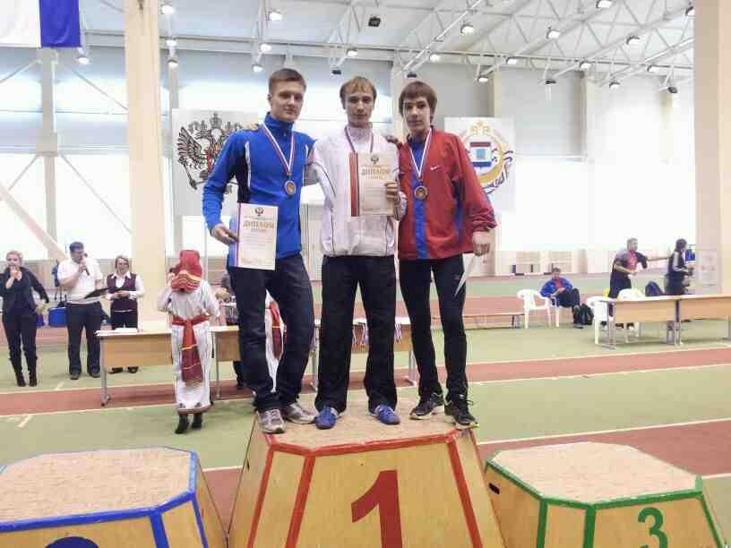 Роман Новиков - 2 место - 60 м.
