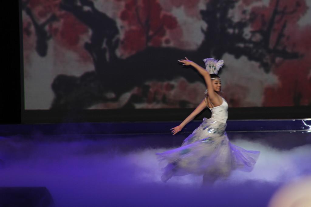 Танец павлина