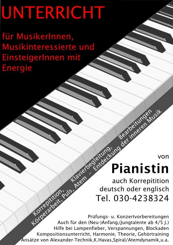 Klavierunterricht Coaching
