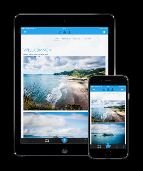 Jimdo iOS App