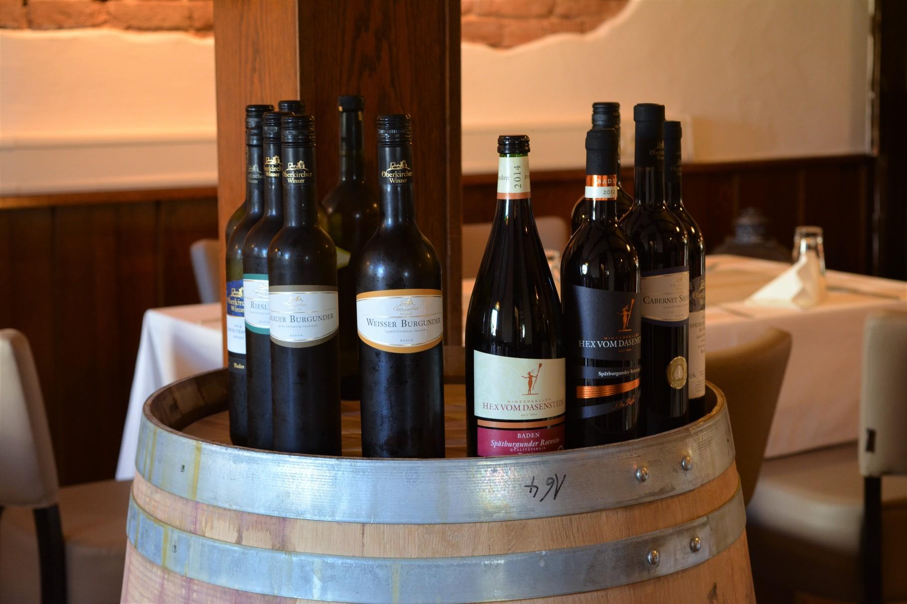 Gute, regionale Weine finden Sie bei uns