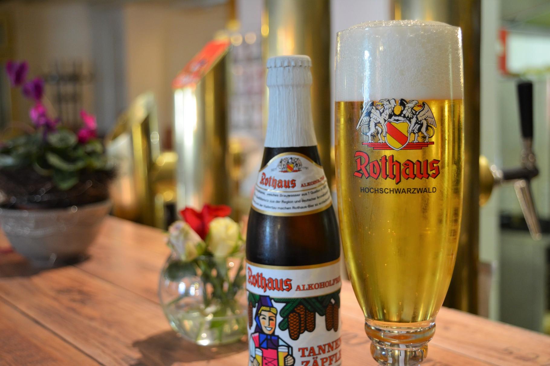 Gut badisches Rothaus-Bier