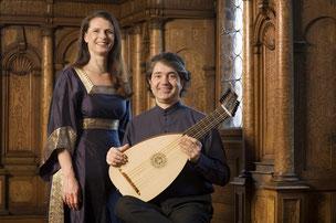 Foto: Corinna Schreiter (Sopran) und Stefan Grasse (Gitarre) / Gerd Grimm