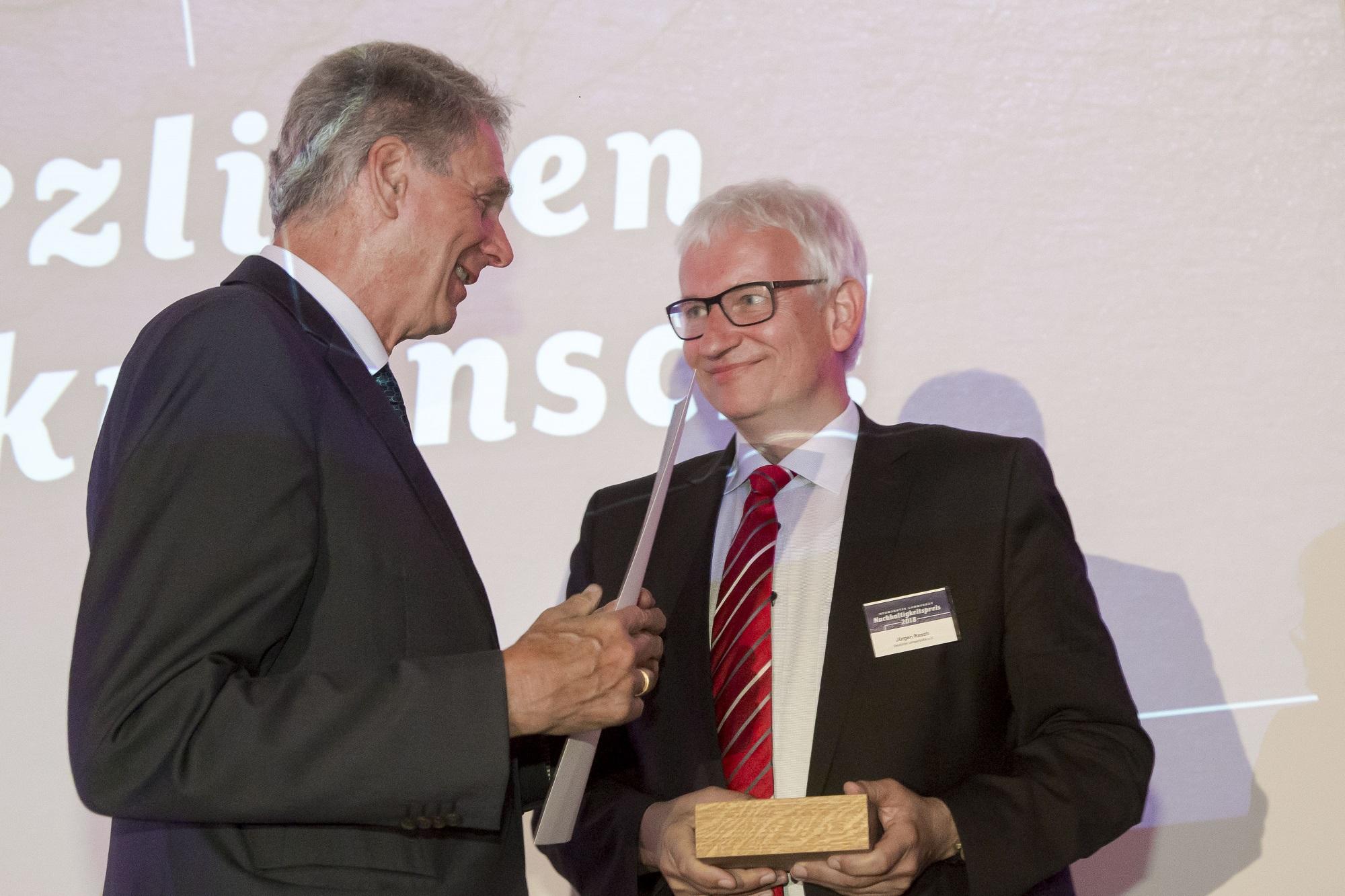 Inhaber Neumarkter Lammsbräu Dr. Franz Ehrnsperger, Gewinner Jürgen Resch