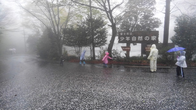 当日は雨でしたが楽しく活動できました。