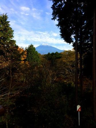 ちびっこ砦の富士山