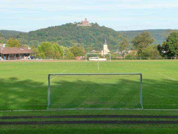 Stadion am See 2011 mit Naturrasen