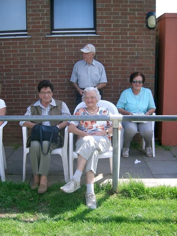 unsere treuen Fans: Margot, Werner, Annemarie und Anni