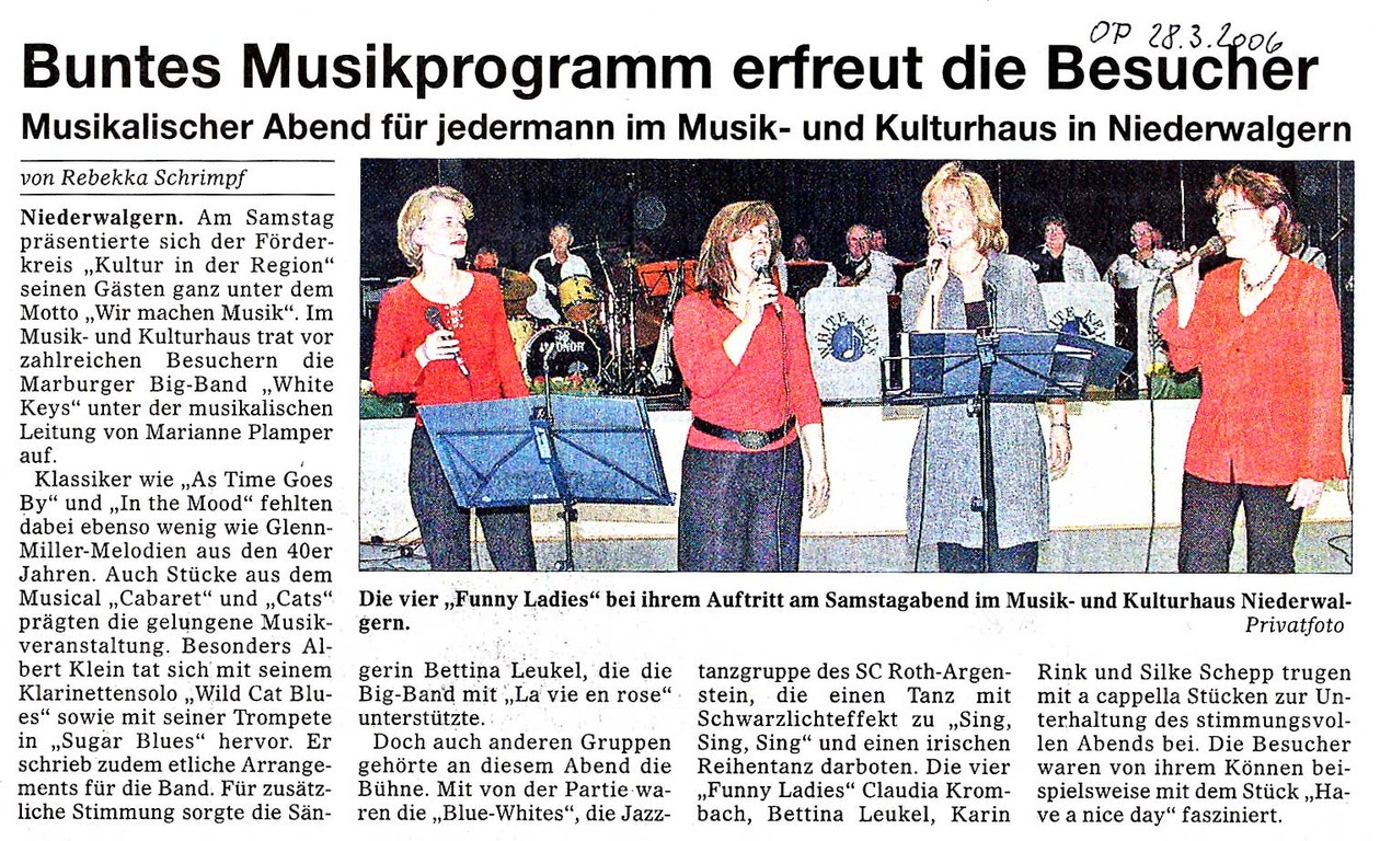 Oberhessische Presse 28.3.2006