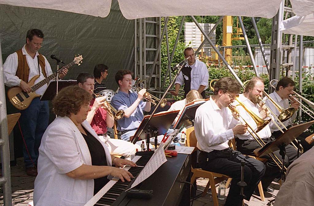 Grundsteinlegung bei Freier Waldorfschule Marburg am 19.6.1999