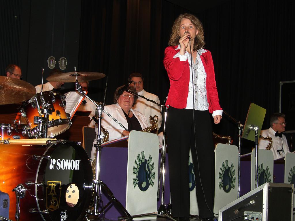 Zum letzten Mal sang Bettina Leukel mit den WHITE KEYS.