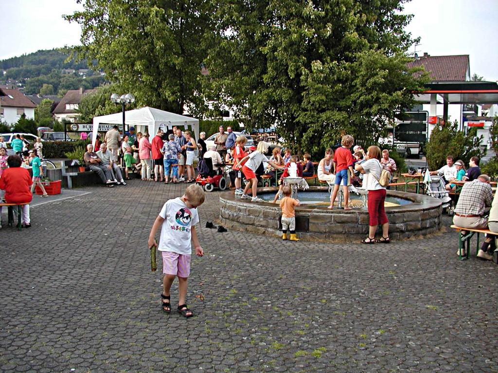 1. Weimarer Sommertreff: Auch die Kleinen haben ihren Spaß.