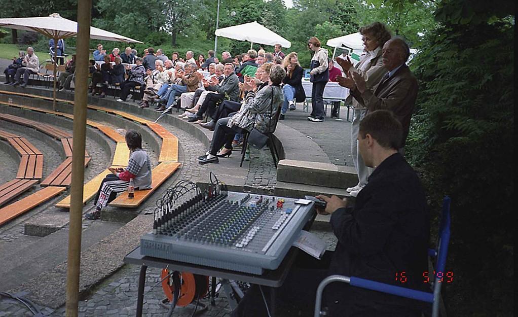 Konzert im Volkspark Stadtallendorf am 16.5.1999