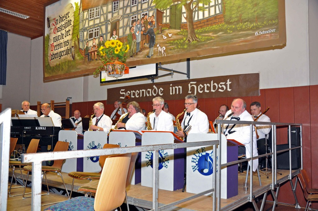 Big-Band in Aktion