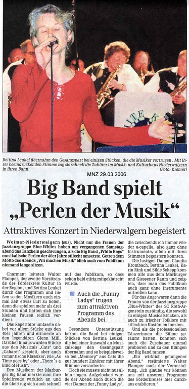 Marburger Neue Zeitung 29.3.2006