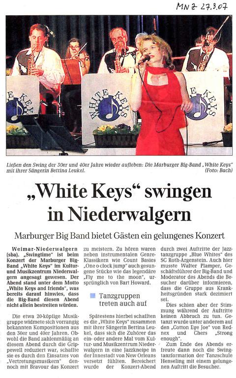 Marburger Neue Zeitung 27.3.2008