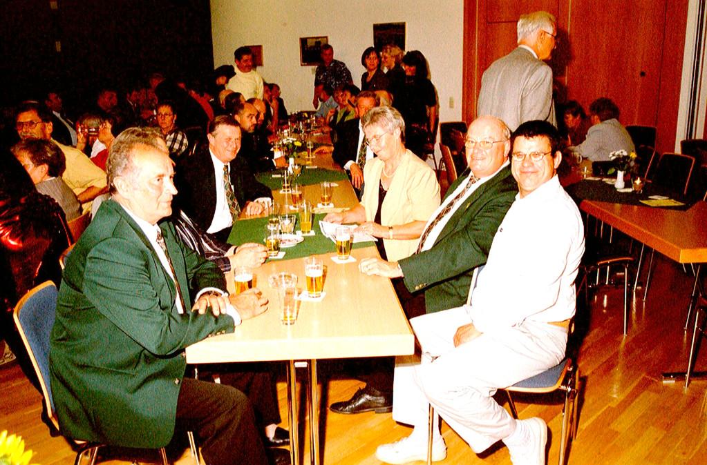 10 Jahre Gemeindepartnerschaft Weimar/Wutha-Farnroda; Ehrengäste