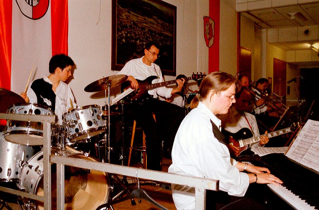10 Jahre Gemeindepartnerschaft Weimar/Wutha-Farnroda; die Big-Band