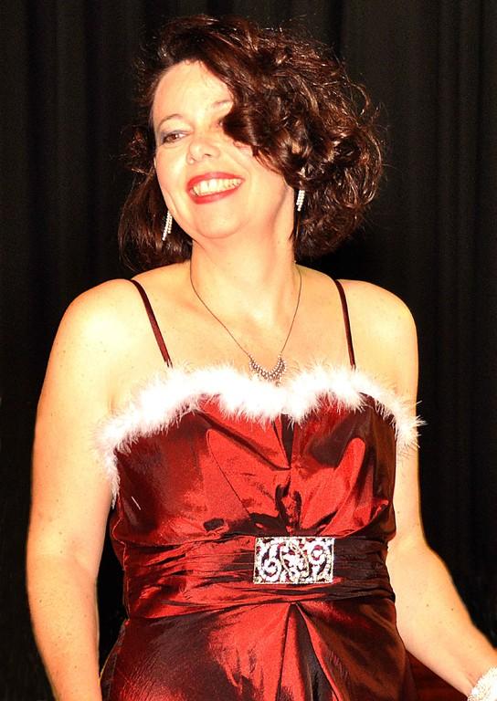 Sängerin Ulla Keller - ein Hingucker