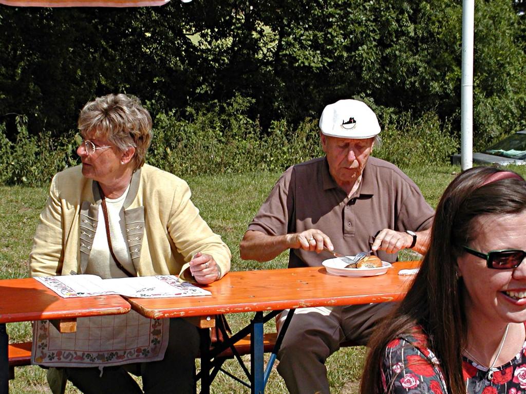 Sommerfest der CDU: Gäste vom Weinberg