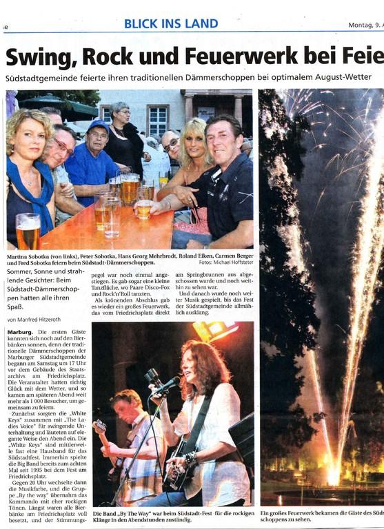Oberhessische Presse 9.8.2010