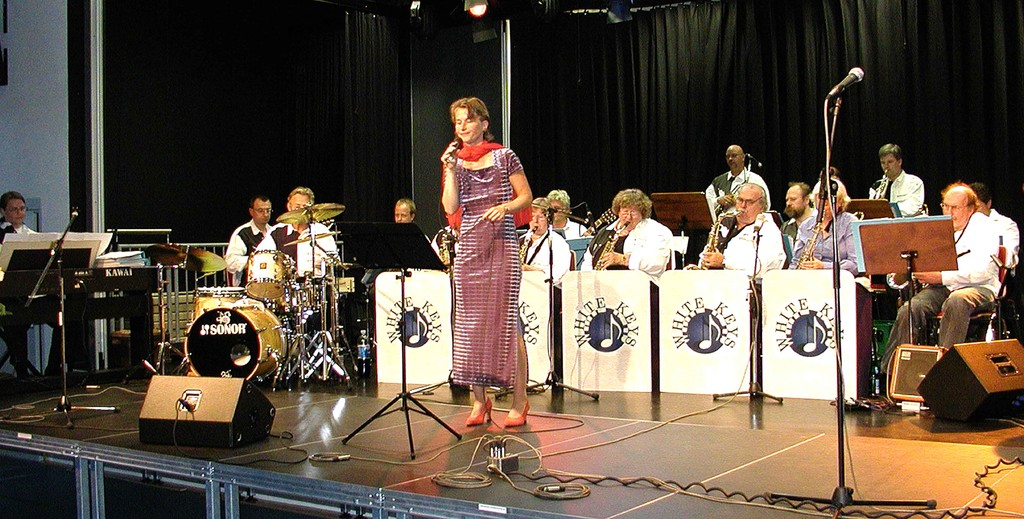 Bettina Leukel mit den White Keys, 10.09.2005