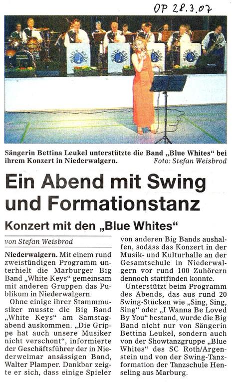 Oberhessische Presse 28.3.2007
