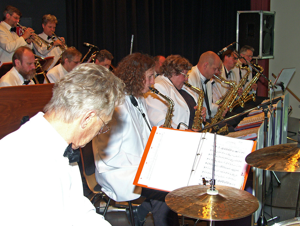 Die Big-Band in action.