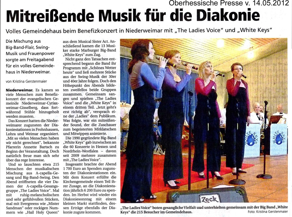 Oberhessische Presse 14.5.2012