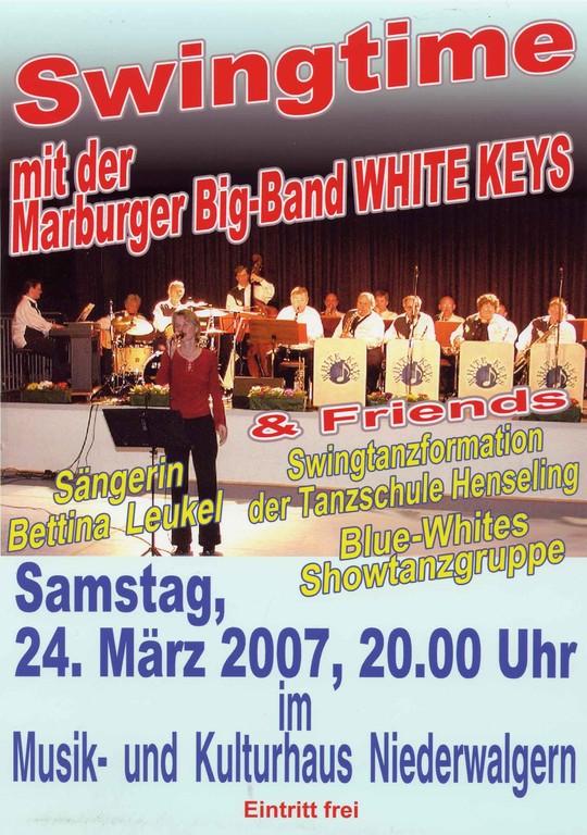 Swingtime 24.3.2007 im Musik- und Kulturhaus Niederwalgern