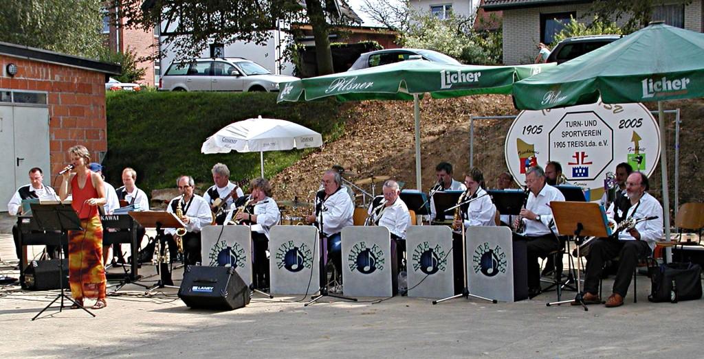 100-jähriges TSV Jubiläum in Treis/Lumda: Die Big-Band