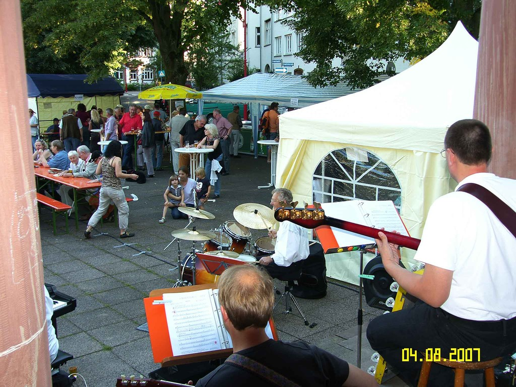 Dämmerschoppen der Südstadtgemeinde 4.8.2007
