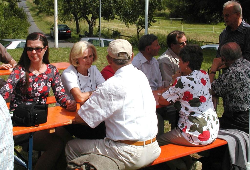 Sommerfest der CDU: Die Gäste lassen sich´s gut gehen