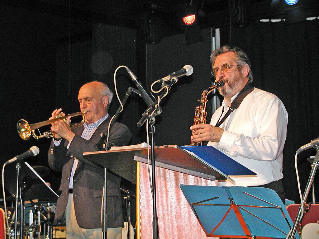 Hannes Kleinhenz und John Coppola