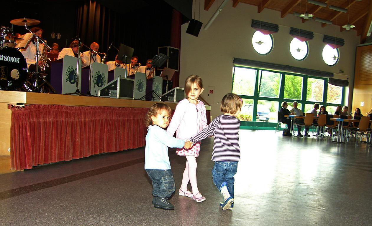 Früh übt sich im Swing tanzen ...