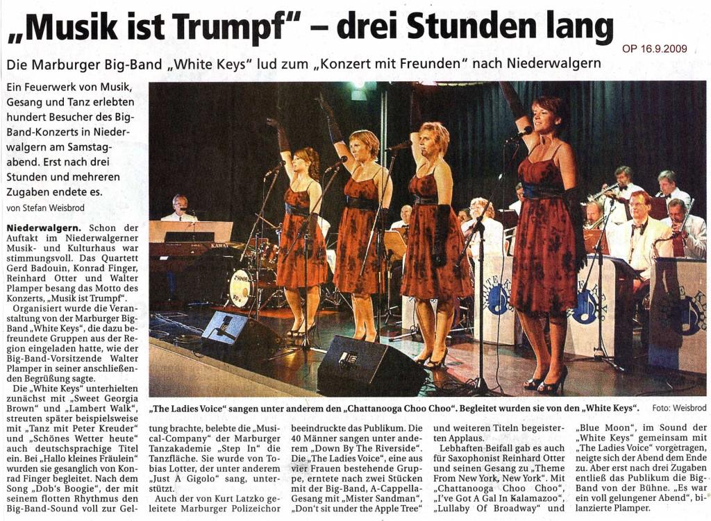 Oberhessische Presse 16.9.2009