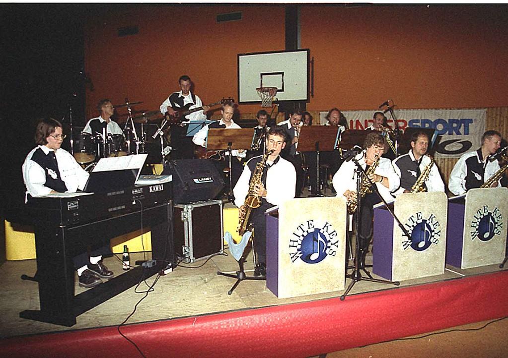 Wetten dass ...? 7.10.2000 in Niederwalgern; die Big-Band