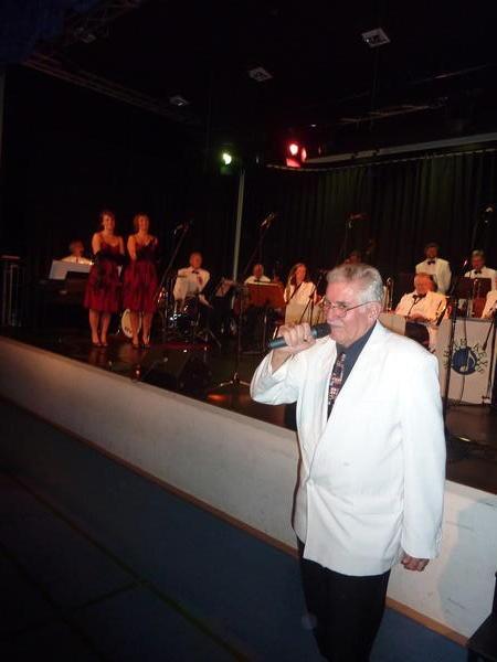 Walter Plamper als Moderator (Foto: Werner Hahn)