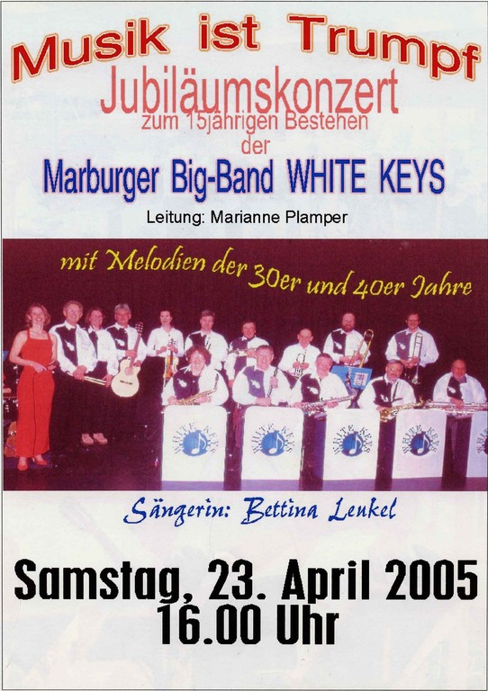 Seniorenzentrum Warburg 23.4.2005, Plakat