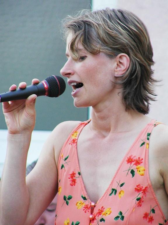 2. Weimarer Sommertreff: Sängerin Bettina Leukel