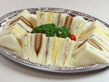 サンドイッチ盛り合わせ(5種)3,4人前