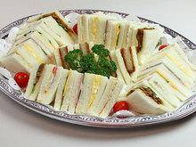 サンドイッチ盛り合わせ(7種)4,5人前