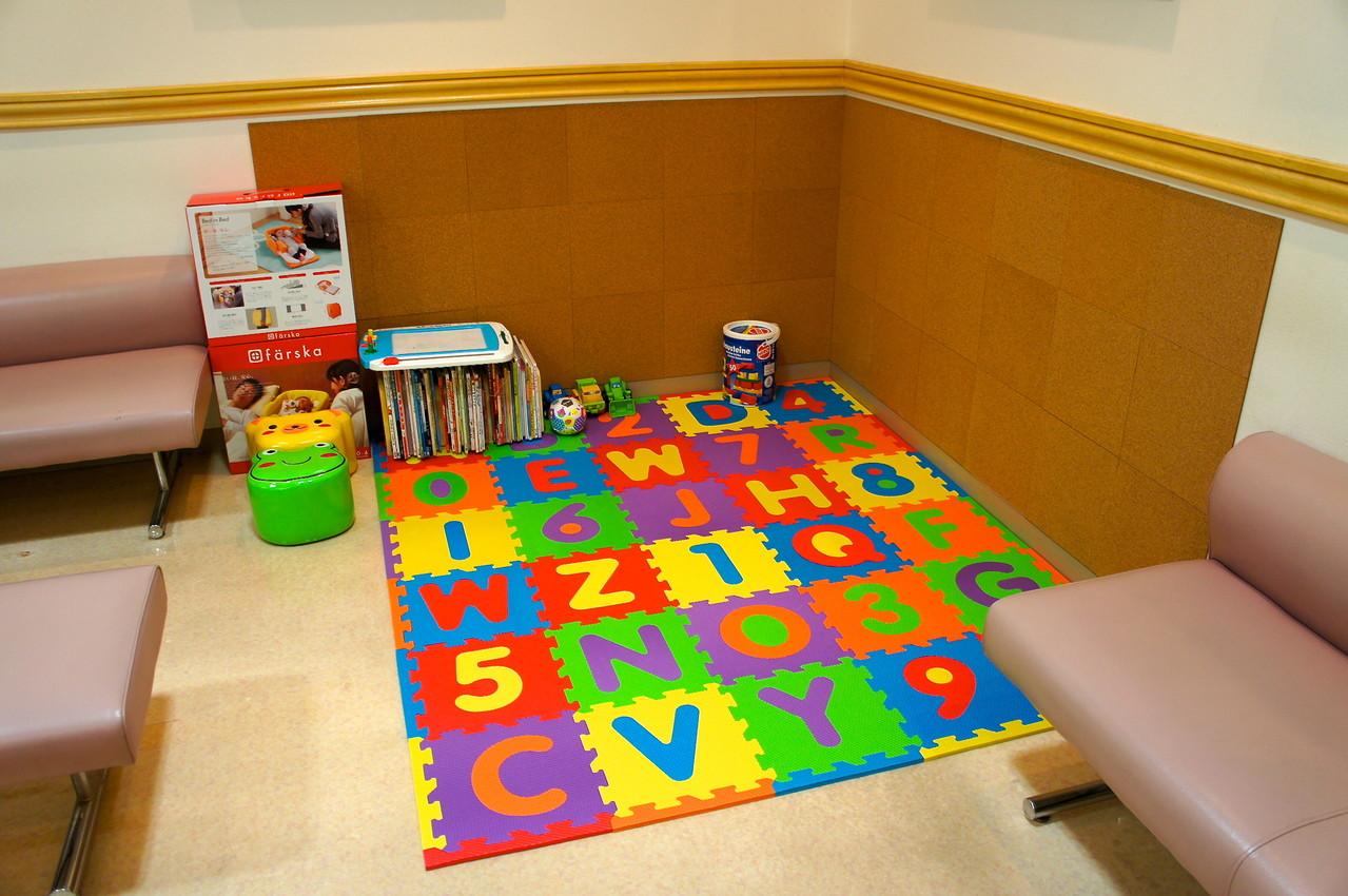 安全な子供用スペース