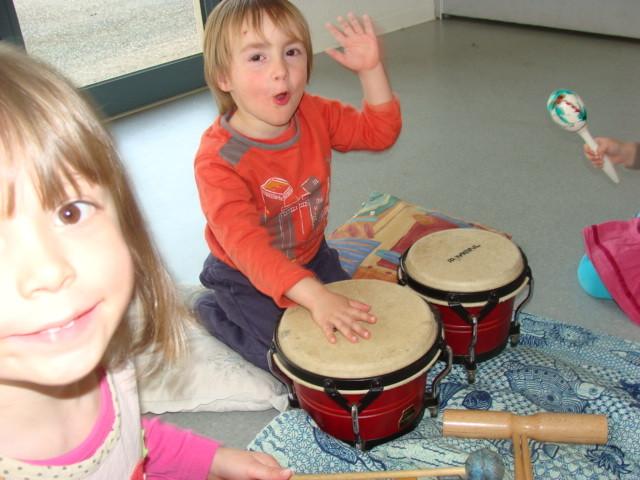 Atelier d'intiation musical pour les 3-4 ans