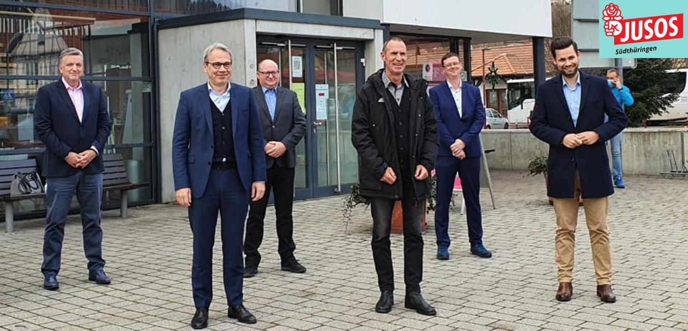 Pressemitteilung: Jusos Südthüringen heißen Frank Ullrich in der SPD willkommen